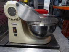 *Santos heavy duty mixer with 2 attatchments