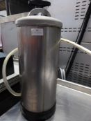 *S/S water filter