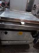 *gas and electric brat pan 900w x 900d x 940h
