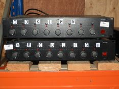 *Monacor STA850D 8-Channel Amplifier