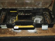*Stanley Component Box Containing Wood Boring Bits, Spanners, etc.