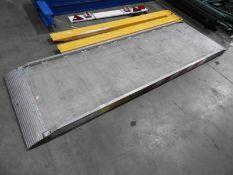 *Aluminium Non-Slip Loading Ramp 75cm width, 240cm length