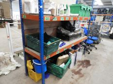 *Medium Duty Shelving Unit Comprising of Uprights and Two Shelves