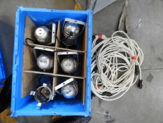 *Box Containing 6 Polished Aluminium PAR30 Lamps with Leads