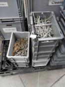 """*Five Boxes of Galvanised 6"""" Nails"""