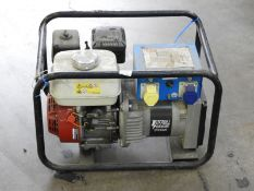 *Stephill 2.7kVA Petrol Driven Dual Voltage Generator