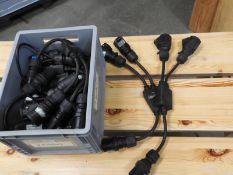 *Ten 16A Wire Splitters