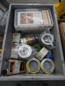 *Box Containing Assorted Masking Tape, Insulation Tape, Steel Wool, Polishes, Maintenance Kits, etc.