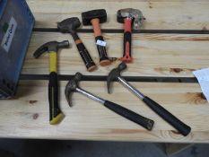 *Three Lump Hammers, Three Claw Hammers, etc.