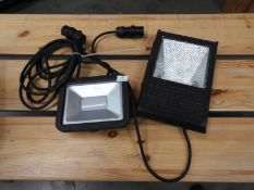 *One LED and One Metal Halide Flood Lamps