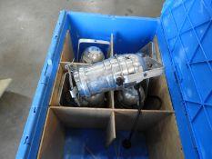 *Crate Containing 5 Polished Aluminium PAR30 Lamps
