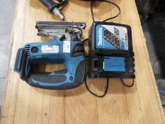 *Makita Jigsaw with Charger (No Battery)