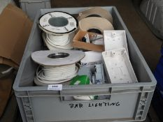 *Box Containing Assorted Electrical Connectors, Flex, etc.