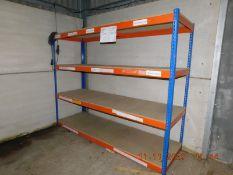 *Four Pallets of Medium Duty Blue & Orange Racking