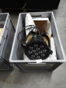 *Pair of LED Outdoor Tripar Programable Light Units