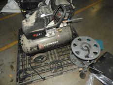 *Richmond 50L 9.6CFM Single Phase Portable Compressor with Tyre Inflator and Airline