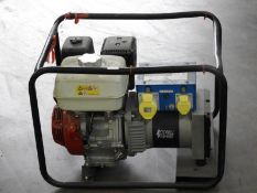 *Stephill 5kVA Petrol Driven Dual Voltage Generator