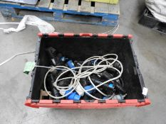 *Box Containing Assorted 16A Plug Sockets and Junction Boxes