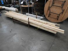 *Quantity of 2x3 PSE Timber