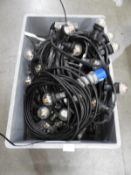 *Three Lengths of LED Festoon Lighting with Power Cable