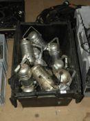 *Box Containing Polished Aluminium PAR30 Lights