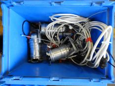 *Box Containing 3 Polished Aluminium PAR30 Lamps with Leads