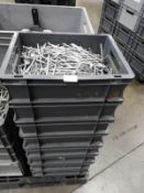 """*Four Boxes of Galvanised 6"""" Nails"""