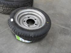 Trailer Spare Wheel with 195/50R13C Tyre on Five Stud Steel Rim (New)