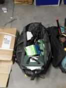 *Toolbag Containing First Aid Kits, Hand Tools, etc.