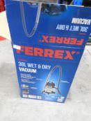 *Ferrex 30L Wet & Dry 1400W Vacuum