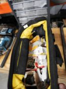 *Stanley Fatmax Toolbag Containing Assorted Tools and Fittings