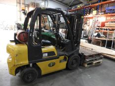 *Nissan LPG 2.5 Tonne Forklift (to stay on site until Monday 8th February 2021)