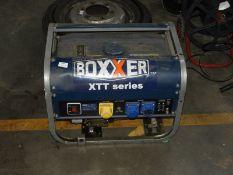 *Boxxer XTT Series Dual Voltage Petrol Driven Generator