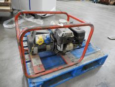 *Honda Petrol Driven Dual Voltage Generator .4kVA