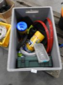 *Box Containing Hand Wipes, First Aid Kits, Hi-Vis Vests, Safety Helmets, etc.