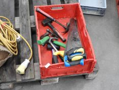 *Box Containing Assorted Hand Tools