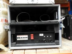 *Four 4-Channel Dimmer Pack in Flight Case