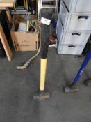 *Sledgehammer with Fiberglass Shaft
