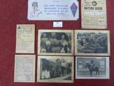 Mixed Lot of Ephemera