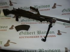 Australian Bren Mk.1 Lithgow .303 LMG with Serial A4558 with Deactivation Certificate 28/10/2020