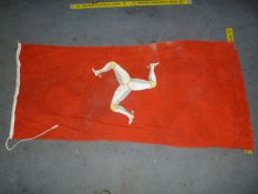 Isle of Man Flag ~178x80cm