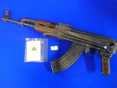 Deactivated Bulgarian AK47 dated 1974