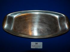 Original Trench Art Stainless Steel Serving Dish for U-Boat U62