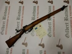 "Enfield No 4 .303"" Bolt Action Rifle with Deactivation Certificate 28/10/2020"