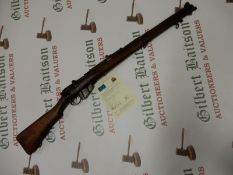 "S.M.L.E Enfield .303"" Bolt Action Rifle with Deactivation Certificate 28/10/2020"