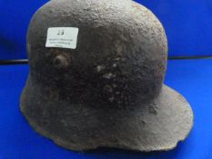 WWI German Helmet in Relic Condition
