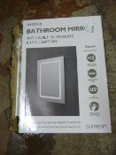 *LED Bathroom Mirror
