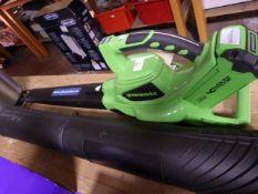 *Greenwork 40v Blower/Vacuum