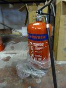 *MP9 9kg Powder Fire Extinguisher