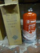 *MW90e 9L Water Fire Extinguisher